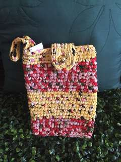 Crochet pouches for Ipad or tablet