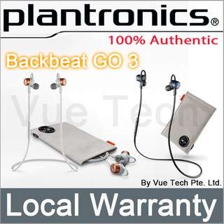 Plantronics Back Beat Go 3 with charging case
