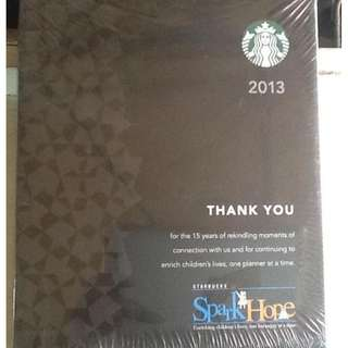 Starbucks Planner  (2013,2014,2015 collectibles)