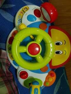 Mainan setir2 an,setir mobil anak