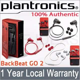 Plantronics Backbeat Go 2 without charging case
