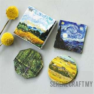 Set of 45pcs Van Gogh's Famous Painting Sticker Pack