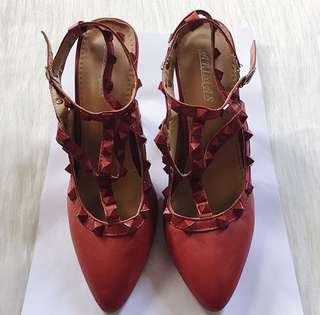 Red Valentino Inspired Heels