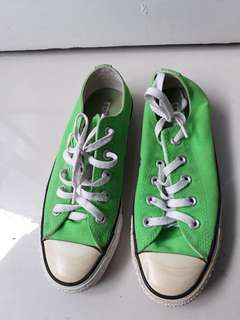 #mausupreme Converse All Star Hijau Stabilo