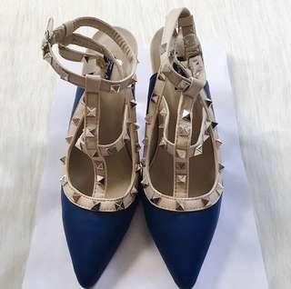 Blue Valentino Inspired Heels
