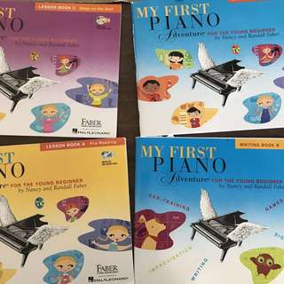 My first piano adventure(5 books+ CD) for young beginner, Faber