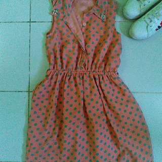 Polka Dress for Kids