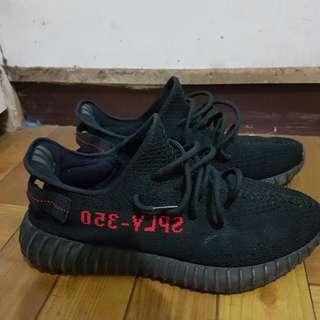 🚚 Yeezy boots 350 v2 黑紅
