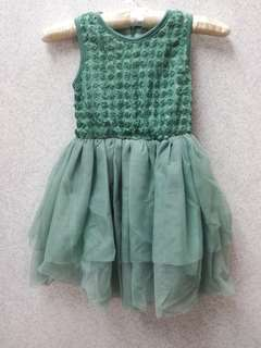 Girl soft lace dress