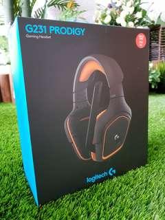 Logitech Prodigy G231 Gaming Headset New
