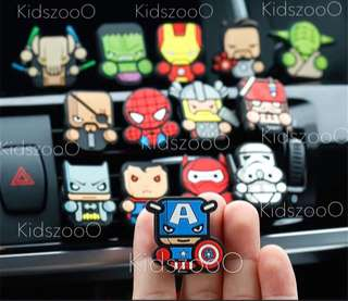 Q版 Avengers 雷神Iron Man Hulk Star War Captain America 白兵美國隊長香薰座
