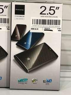 """HOTWAY HDK-SU3 USB 3.0 2.5"""" SATA HDD CASE BLUE"""