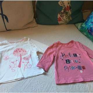 Mothercare George UK Baby Girl Tops