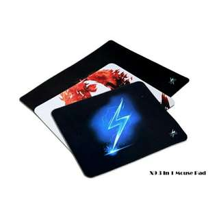 Professional gaming mouse pad 3in1 bundle set