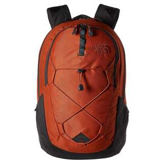 The North Face Jester Laptop Backpack, Ketchup Red Emboss/Asphalt Grey