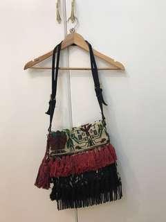 Bohemian Fringe Parfois Bag