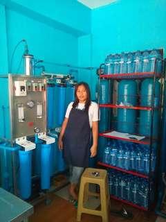 Water station equipment