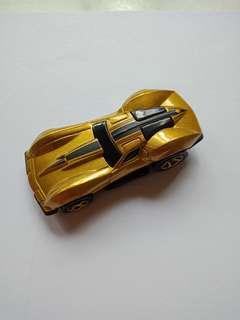 Hot Wheels Gold Mystery 63 Corvette Stingray