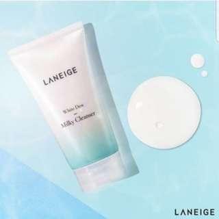 LANEIGE White Dew Milky Cleanser (10ml)
