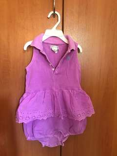Authentic Ralph Lauren Romper Dress