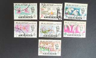 Malaysia Perak stamps Orchids