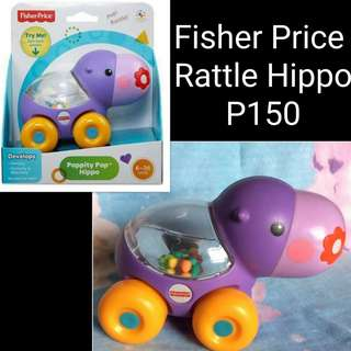 Fisher Price rattle hippo