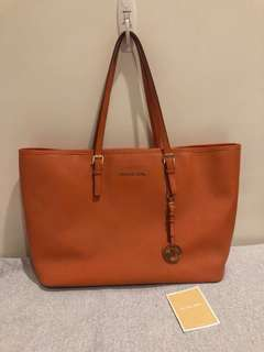 Michael Kors Saffiano leather bag