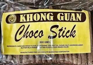 Khong guan choco sticks