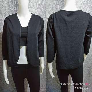 Black office blazer