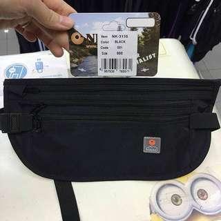 有門市~NIKKO MONEY BELT 貼身防盜腰包 貼身腰包 證件袋#NK3135