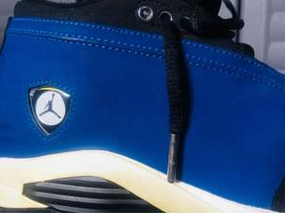 Jordan 14 Retro Low ( Laney )