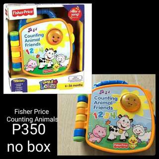 Fisher Price Counting Animals