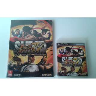 PS3 Super Street Fighter IV + Prima Official Guide
