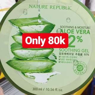Free Ongkir Nature Republic Aloe Vera