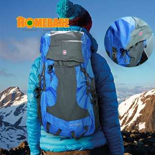 HOMEbase Original Swiss Gear Design Foldable Backpack *Blue