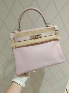Hermes kelly 28 baby pink