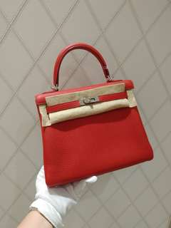 Hermes kelly 25 rough gerance x stamp