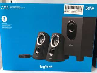 Logitech Speakers Z313 2.1 Speakers Staten 25 Watt 2 years