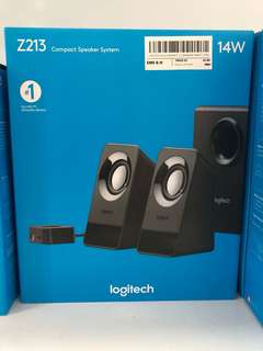 Logitech Speakers compact system Z213 7 watt 1 year