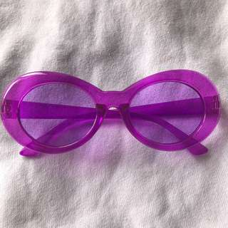 CLOUT GOGGLES GLITTER VIOLET