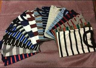 Vintage Classic Stripes Tees