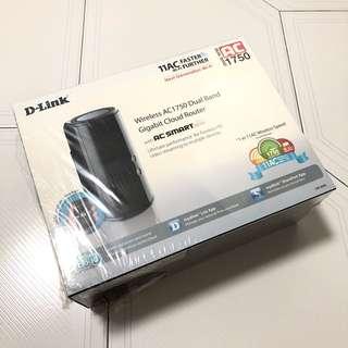 Brand New D-Link Wireless AC 1750 Dual Band Gigabit Cloud Router