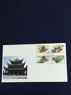 China stamp- 1987 T121 FDC