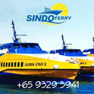 PROMO Sindo Ferry Ticket To Batam Indonesia Passport