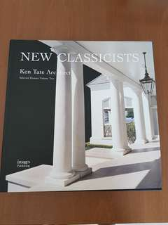 Ken Tate New Classicists Architecture book