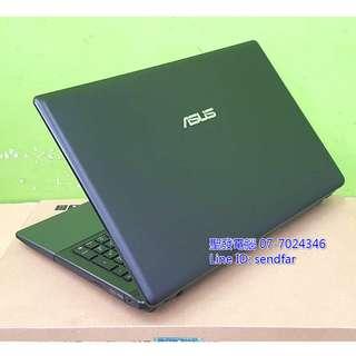🚚 大螢幕高效獨顯 ASUS X55V i5-3210M 4G 500G 獨顯 DVD 15吋筆電 ◆聖發二手筆電◆
