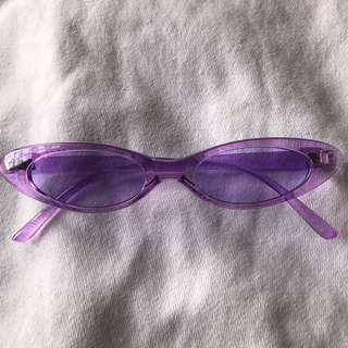 SMALL SUNGLASSES VIOLET