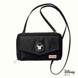 FREAK'S STORE 米奇聯名 mickey mouse 黑色側背袋 側咩袋手袋