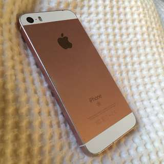 iPhone SE small rose gold 32 gb