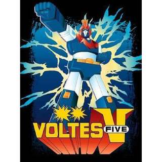 VOLTES V (1977) COMPLETE JAPANESE SCI-FI TV SERIES DVDS